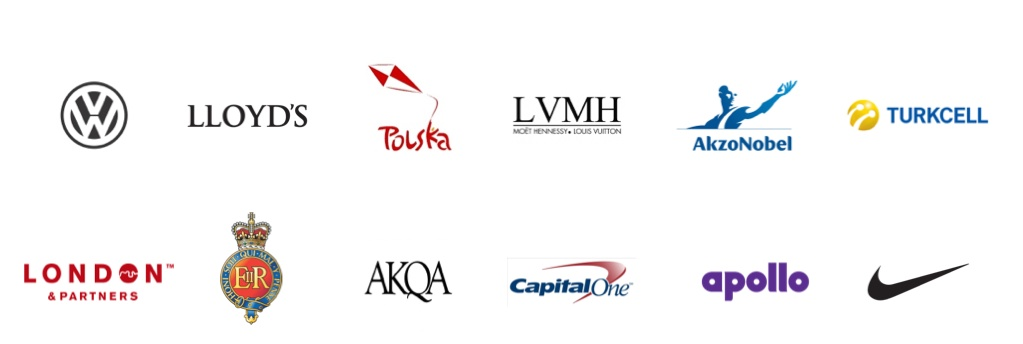 A few of our most prominent clients narrow