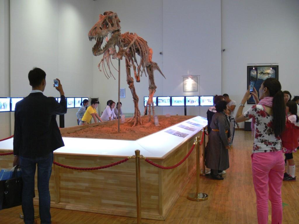 The tyrannosaurus baatar